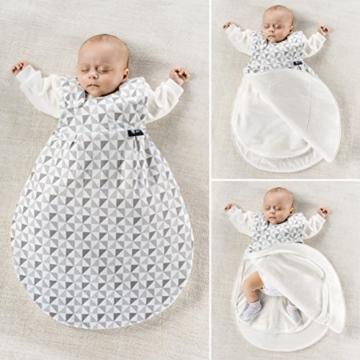 alvi baby m xchen original der ganzjahres baby schlafsack im test. Black Bedroom Furniture Sets. Home Design Ideas