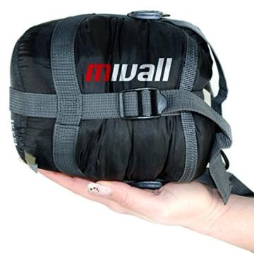mivall patrol ultraleicht klein warm sommerschlafsack. Black Bedroom Furniture Sets. Home Design Ideas