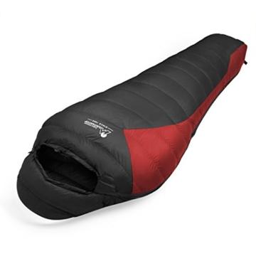 save off abbd0 72ab5 Mountaintop Schlafsack ultraleicht Daunenschlafsack