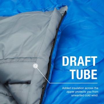 Professional 300 Mumien-Schlafsack für 3-4Saisons für Camping, Wandern, Aktivitäten im Freien - 4