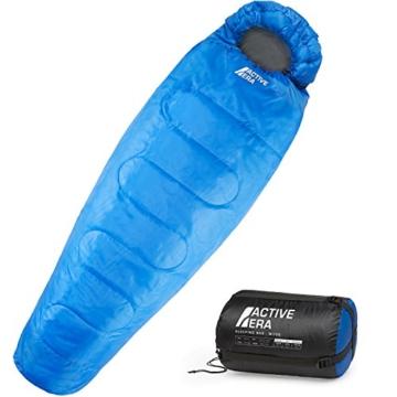 Professional 300 Mumien-Schlafsack für 3-4Saisons für Camping, Wandern, Aktivitäten im Freien - 1