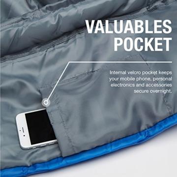 Professional 300 Mumien-Schlafsack für 3-4Saisons für Camping, Wandern, Aktivitäten im Freien - 5