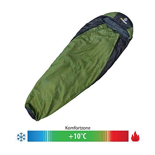 outdoorer trek night trekking schlafsack test. Black Bedroom Furniture Sets. Home Design Ideas