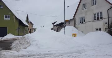 SchneeSchlafsack