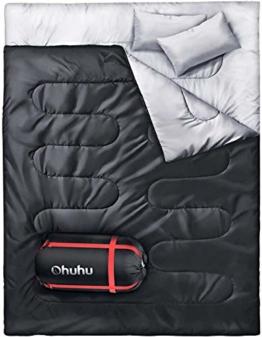 Ohuhu Doppelschlafsack