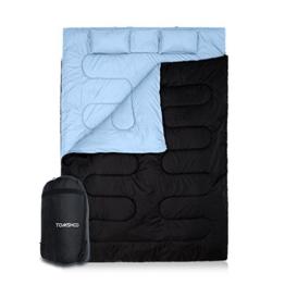 TOMSHOO Doppelschlafsack Schlafsack Camping