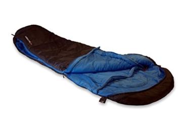 High Peak Mumien Schlafsack Test