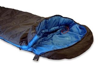 High Peak Mumien Schlafsack TR 300 Allround Trekking 4 Jahreszeiten Leicht -15°C RV Links - 5