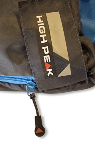 High Peak Mumien Schlafsack TR 300 Allround Trekking 4 Jahreszeiten Leicht -15°C RV Links - 9