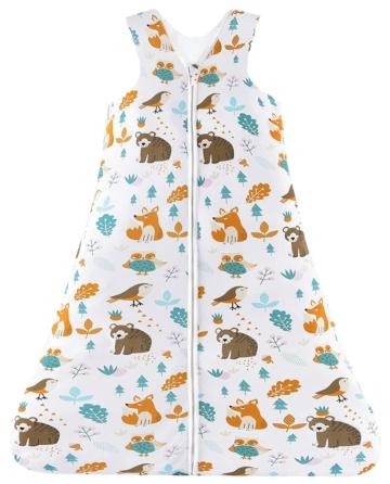 Chilsuessy Sommerschlafsack Baby Kleine Kinder ohne Ärmel Waldtiere