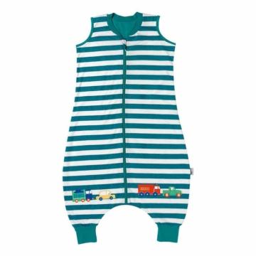 Schlummersack Baby Schlafsack mit Füßen Sommer