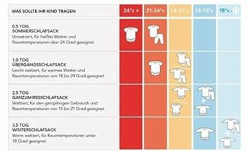 Schlummersack Ganzjahres Kinderschlafsack gefüttert in 2.5 Tog MIT ABNEHMBAREN Ärmeln - Waldtiere - 130 cm / 3-6 Jahre - 2
