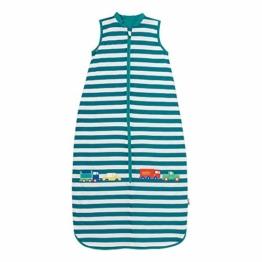 Schlummersack Sommer Kinderschlafsack für Jungen 1.0 Tog - Autos - 3-6 Jahre / 130cm - 1