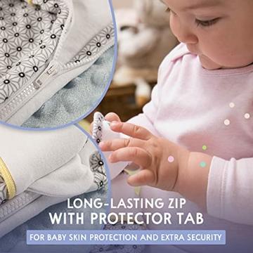 Sweety Fox - Schlafsack Baby Zertifizierte Baumwolle 100% Bio Oeko-TEX® - 2.5TOG - Unisex - 3