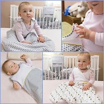 Sweety Fox - Schlafsack Baby Zertifizierte Baumwolle 100% Bio Oeko-TEX® - 2.5TOG - Unisex - 7